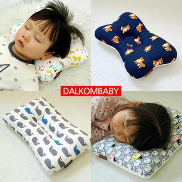 🆕100%正韓空運 DALKOMBABY透氣兒童枕頭