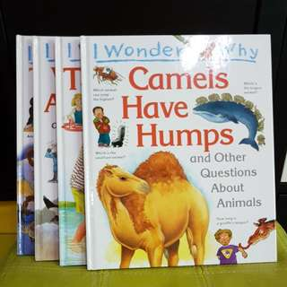I Wonder Why (Grolier 4 Books)