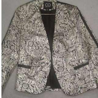 Cotton On gold jacket size 8