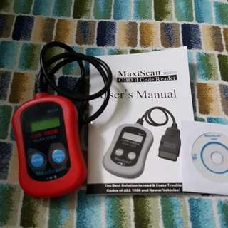 OBD 2 Code Reader For Cars 1996 And Newer