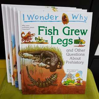 I Wonder Why (Grolier 5 Books)