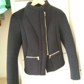 Kookai Black Winter Jacket Size 34