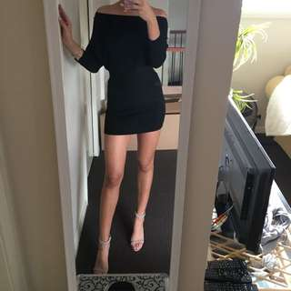 Black Jumper Dress From Xenia Boutique 6-8