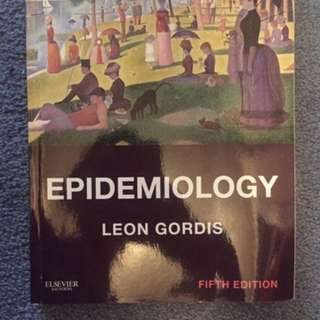 Epidemiology 5th Edition book by Leon Gordis