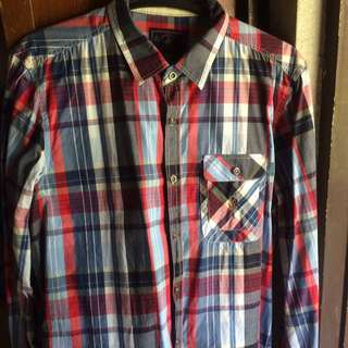 Beverly Hills Polo Club Plaid Longsleeves