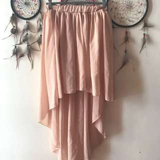Nude Mullet Skirt ❤