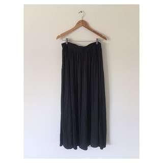 Black Maxi Skirt | Size 12