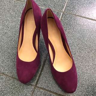 Cole Haan Purple heels