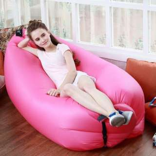 Portable Self-Inflatable Couch: No Pump Needed !