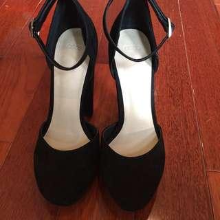 Asos Black Platform Heels