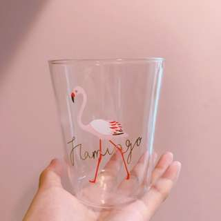 (chill)Flamingo 玻璃杯