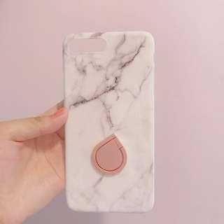 (包郵) iPhone 7plus 雲石殻