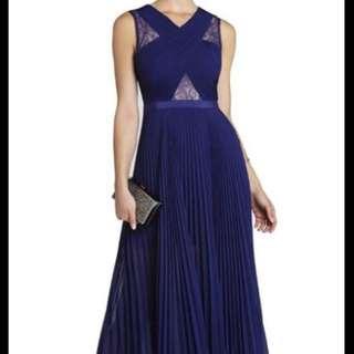Bcbg Blue Gown