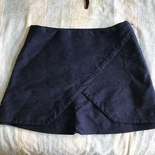 Kookai Navy Blue Skirt