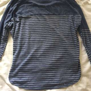 Long Sleeve Stripy Top