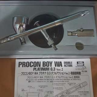 MrHobby Procon Boy WA Platinum Ver.2 (0.3mm) Airbrush