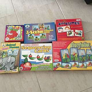 Educational Board Games/activity Games For Ages 3 And Up