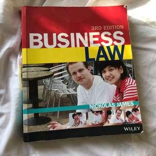 Business Law - Nickolas James 3rd Edition