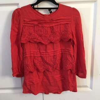 ASOS Blouse Size Small