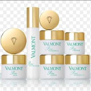 所有Valmont 產品公價75折發售 Salon Size