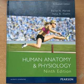 Human Anatomy & Physiology by Elaine Marieb & Katja Hoehn (9th Edn)