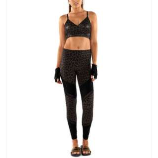 L'urv, Lululemon, Lorna Jane, Nike. New With Tags L'urv Animal Spliced Leggings Gym Tights High Waist XS This Seasons RRP $119