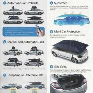 Car Umbrella (black/siver)