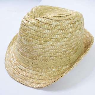 Weaved Fedora Hat