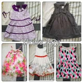 Bundle: Dress 2-3y