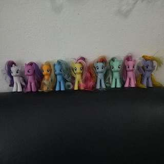 Collectables My Little Pony Set
