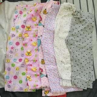 Bundle: Pajamas 1-2y Girl