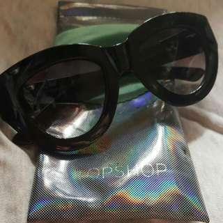 100%real  TOP SHOP太陽眼鏡