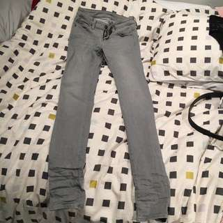 Uniqlo grey jeans