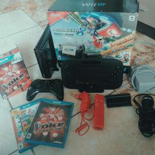 2months Old WiiU Console SET