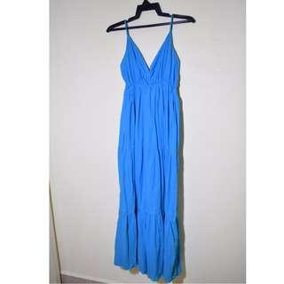 Maxi Blue Dress Beach / Casual