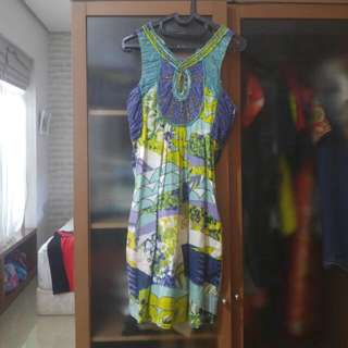Derhy Ethnic Dress For Woman Sz L