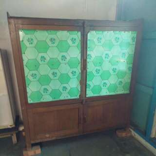 Old Large Kitchen Cabinet