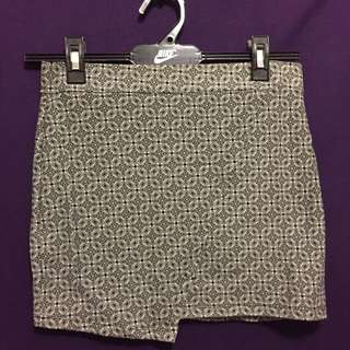 Factorie Geometric Skirt Size Small