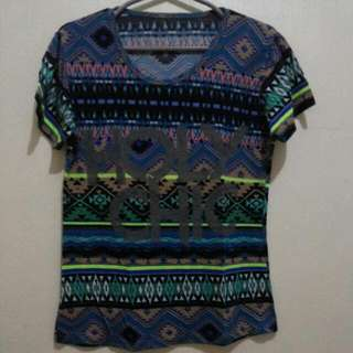 Aztec t-shirt holy chic