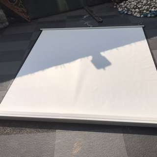6 x 6 1/2 ft Projector Screen