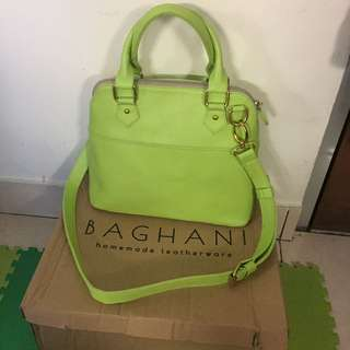 BAGHANI City Bag Green