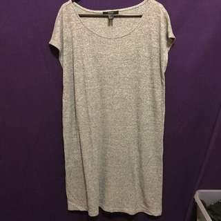Forever 21 Grey Tshirt Dress Size Small/8-10