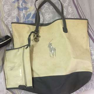 Ralph Lauren Large Beach Bag