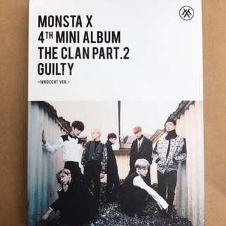 MONSTA X 4th Mini Album The Clan Pt. 2 [Innocent Ver.]