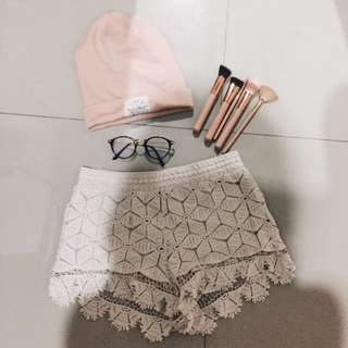 Forever 21 Lace Short