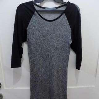 3/4 Sleeve Top (Semi-Dress)