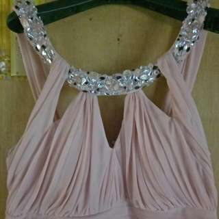 maxi semi gown plus size