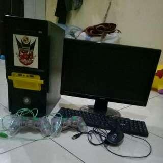 JUAL MURAH 1 Set Komputer (Monitor LED+ CPU +Mouse)
