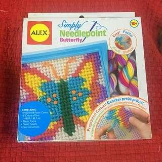 Alex Toys Butterfly Needlepoint