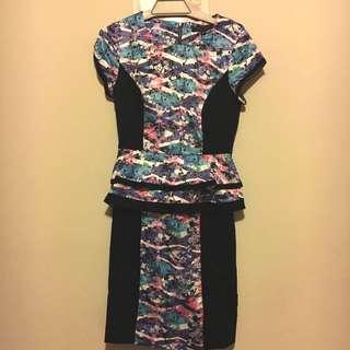 💫Price Drop💫Peplum Dress Size 8